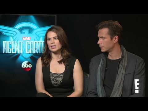 James D'Arcy and Hayley Atwell TV Scoop interview 2