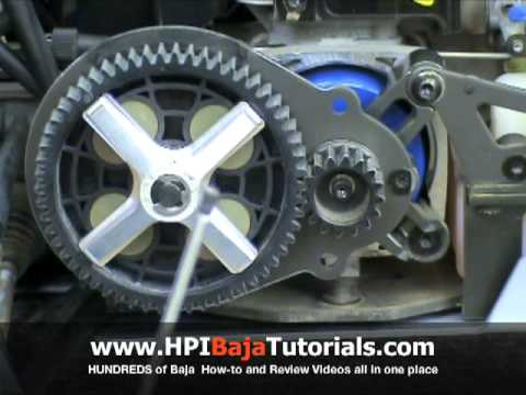 Craftworks RC Alloy Spur Gear Carrier for the HPI Baja