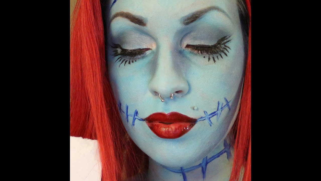 Sally Skellington Makeup Tutorial YouTube