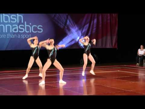 Cheung, Davies, Payne - Aerobic British 2013 - Gold video