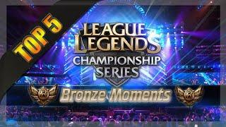 Top 5 LCS Bronze Moments [Season 4]