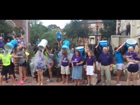 Ice Bucket Challenge at Agnes Scott College