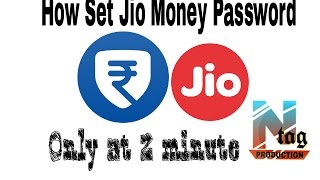 How to set Jio money's Password/ How to register Jio money  @ by Ntag Production