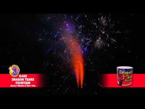H-045 Dragon Tears Fountain - Phantom Fireworks
