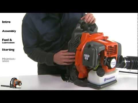 Husqvarna Backpack Blowers - Maintenance
