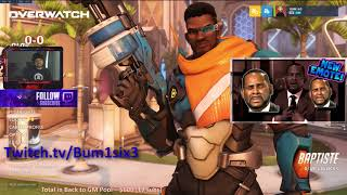 Overwatch on PC - Road to GM and we got that new R Kelly Emote for ya!
