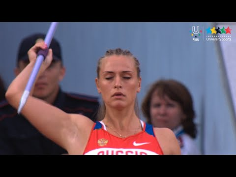 Athletics Women's Javelin Throw Final - 27th Summer Universiade 2013 - Kazan (RUS)