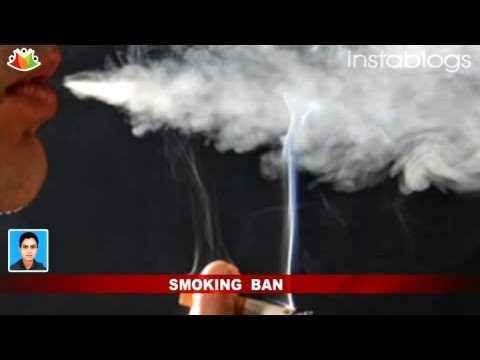 India bans public smoking