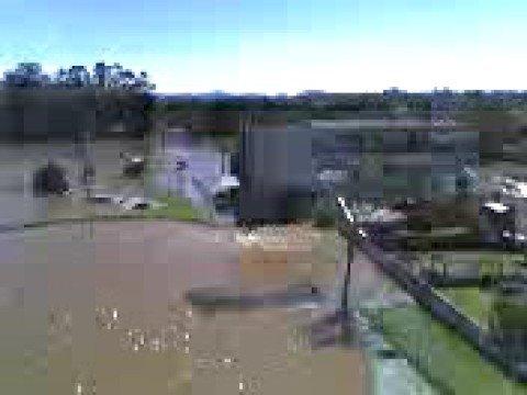 Enchente em Estrela-RS