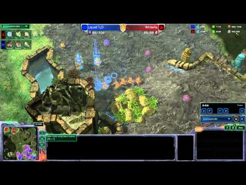 HD Starcraft 2 WhiteRa v TLO PvZ Heart of the Swarm