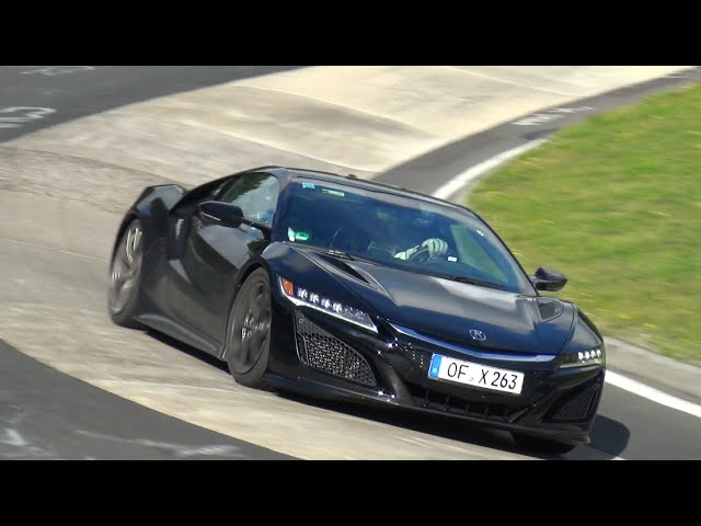 2016 Honda NSX - Exhaust SOUNDS on the Nurburgring
