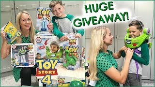 AD | GIVEAWAY & HUGE TOY STORY 4 TOY HAUL
