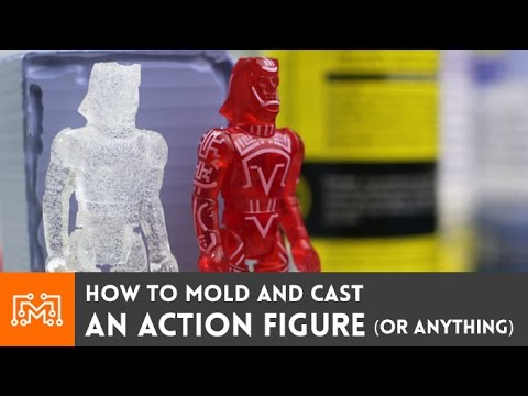 How To Mold And Cast An Action Figure   Or Anything