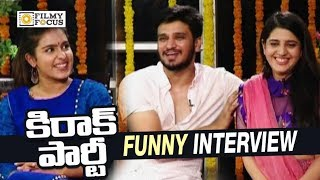 Kirrak Party Movie Team Funny Interview | Ugadi Special Interview | Nikhil, Samyuktha Hegde, Simran