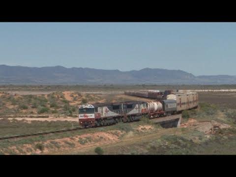 Australian Trains; The big white train