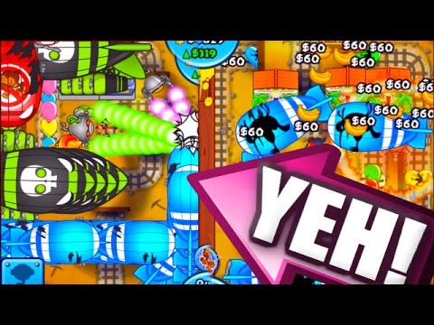 Bloons TD Battles - NEVER ATTACK ME! - Epic Bloons TD Battles Strategy
