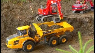 STUNNING RC MACHINES AND VEHICLES! COOL RC MACHINES AT WORK! NICE VOLVO, LIEBHER OR SCANIA MODELS