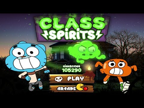 The Amazing World Of Gumball - Class Spirits Gameplay Walkthrough video