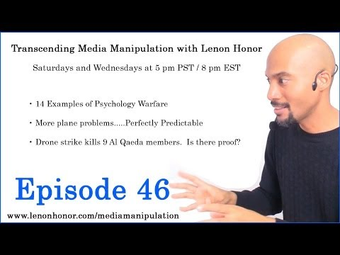 14 Examples of Psychological Warfare ~ Mind Control ~ Lenon Honor