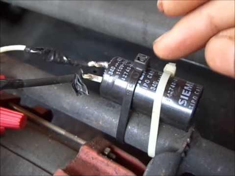 Capacitor de arranque ar condicionado
