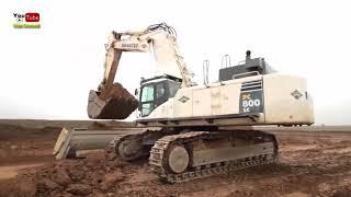 5. Excavator, Bulldozers, Crane - Máy xúc, Máy ủi, CẦn cẩu ( KIDs TV)
