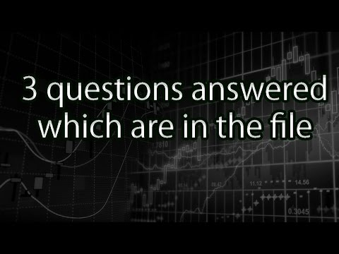3 questions answered which are in the file