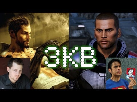 Adam Jensen & Commander Shepard Epic Interview