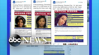 Search underway for missing teen girls in Washington, DC