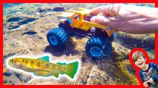 Monster Trucks Find Fish