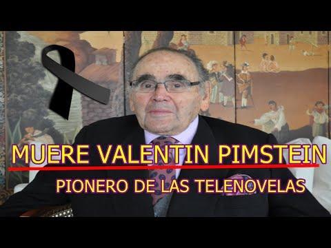 MUERE VALENTIN PIMSTEIN a los 91 AÑOS en su natal CHILE PIONERO de las TELENOVELAS