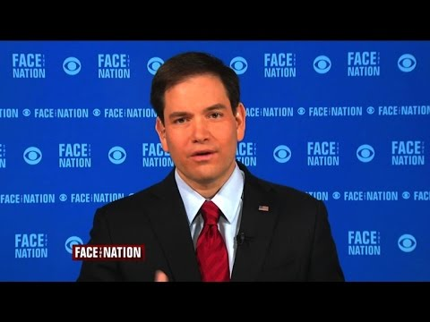 Marco Rubio lays out his potential 2016 pitch