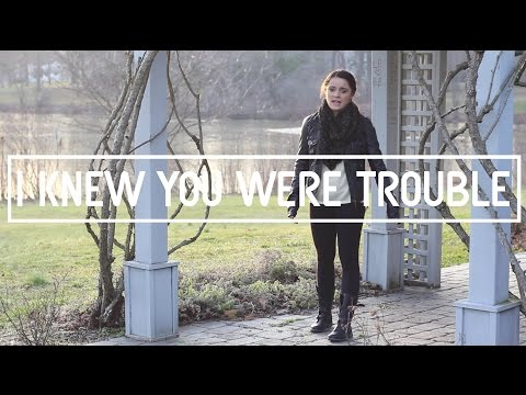 I Knew You Were Trouble Music Video video