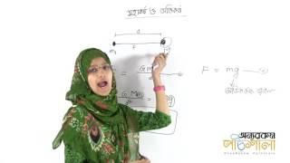 03. Gravity and The Acceleration Due to Gravity | অভিকর্ষ ও অভিকর্ষজ ত্বরণ | OnnoRokom Pathshala