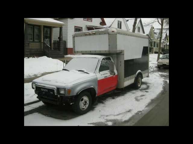 89 Toyota 1-ton U-Haul (used truck sales)