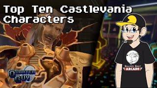 Top Ten Castlevania Characters