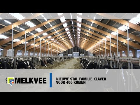 Video: nieuwe stal familie Klaver voor 400 koeien