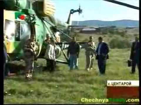 Владимир Путин посетил Чечню