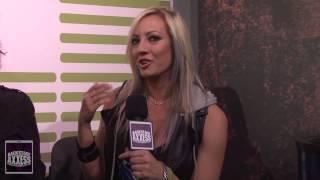 BackstageAxxess interviews Chuck Garric and Nita Strauss of the Alice Cooper Band.