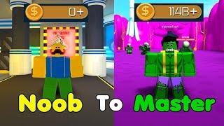 Noob To Master! 100 Billion Cash! Unlocked All Zones! Got Hulk! - Superhero Simulator