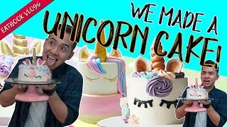 WE MADE A UNICORN CAKE! | Eatbook Vlogs | EP 76