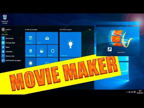 Descargar e instalar Movie Maker en Windows 10 gratis