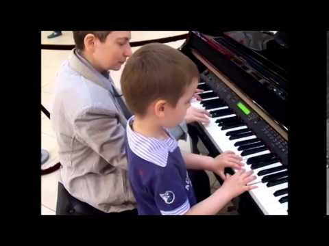 Музыкальное развитие детей. Фортепиано. Занятие №2