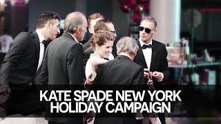 Anna Kendrick's Kate Spade New York Holiday Campaign (2014)