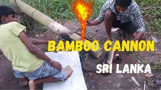 Una Wedi Bamboo Cannon