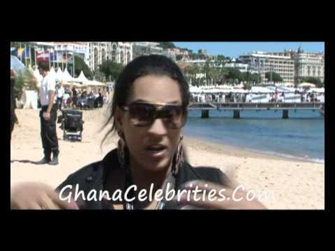 Ghanaian Movie Stars at Canne Film Festival
