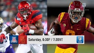 Trojans host Arizona in Pac-12 South clash