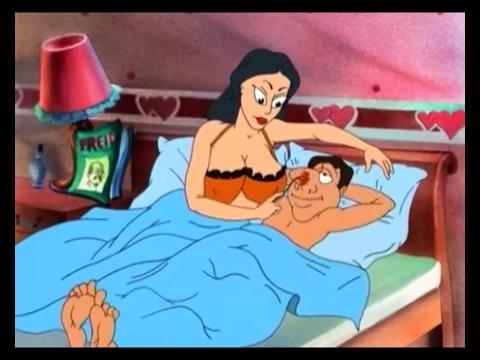 """Не детский мультфильм """"СМЕХ И ГРЕХ"""" (полностью) The animated cartoon is Laughter and sin"""
