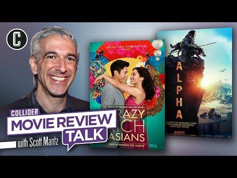 Crazy Rich Asians & Alpha - Movie Review Talk with Scott Mantz