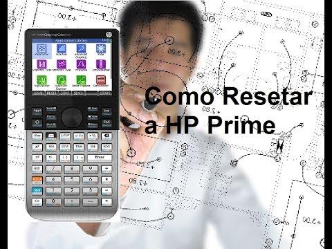 #1 Como Resetar e Limpar a Memória da HP Prime