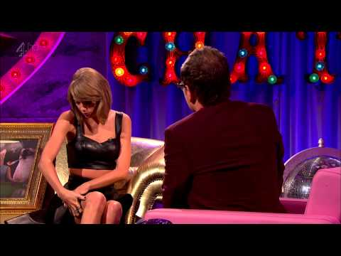 Taylor Swift - Interview + Shake It Off (Live @ Alan Carr: Chatty Man) October 24, 2014